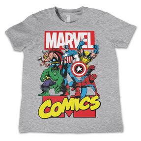 Dětské tričko Marvel Comics Captain America Comics Heroes
