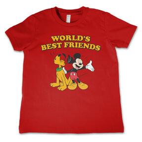 Kinder T-Shirt Mickey und Pluto Die besten Freunde