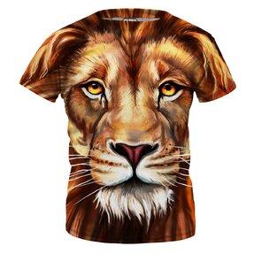 Detské tričko Oil Painting Lion