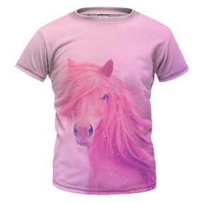Detské tričko Pink Horse
