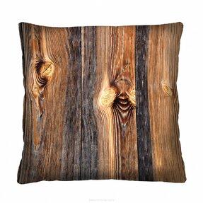 Dizajnová obliečka na vankúš Wood 40x40 cm