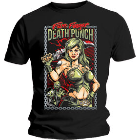 Five Finger Death Punch Assassin Pólo