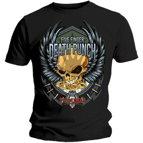 Five Finger Death Punch Trouble Pólo
