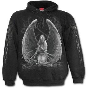 Mikina s kapucí Královna andělů