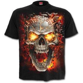 Detské tričko Explozia lebky