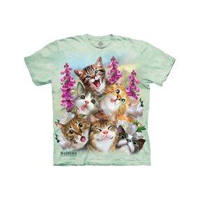 T-Shirt für Baby Verrückte Katzen