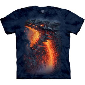 Detské tričko Ohnivý drak