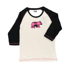 Dámske tričko na spanie Károvaný medveď