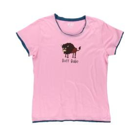 Dámske tričko na spanie Byvol