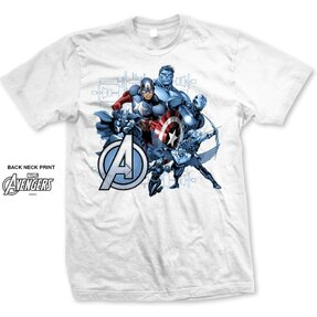 T-Shirt Marvel Comics Avengers Assemble Group