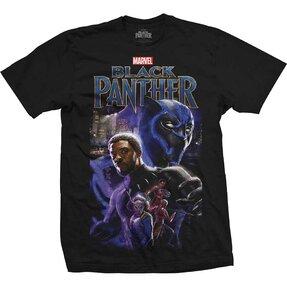 Tričko Marvel Comics Black Panther Montage