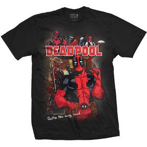 Tričko Marvel Comics Deadpool Homage