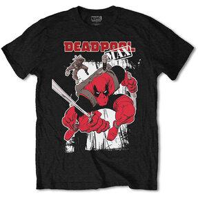 Tričko Marvel Comics Deadpool Max