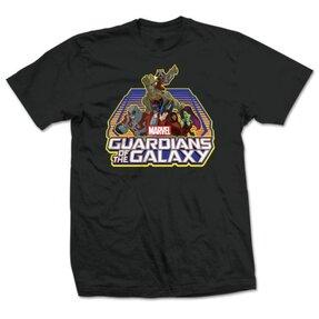 Tričko Marvel Comics Guardians of the Galaxy Group Logo