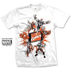 Tričko Marvel Comics Marvel Montage 2.