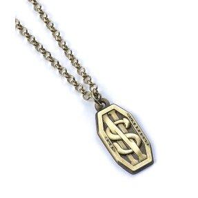 Stříbrný náhrdelník Fantastická zvířata Mlok Scamander