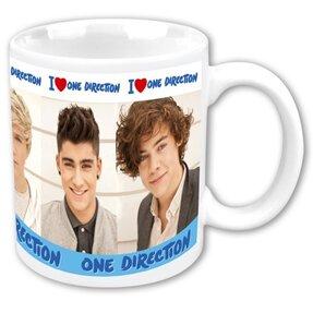 Keramický hrnček One Direction I Heart 1D