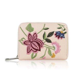 Peňaženka Flower krémová