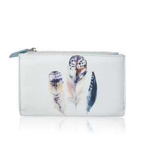 Peňaženka Jaida svetlo modrá