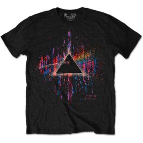 Tričko Pink Floyd Dark Side of the Moon Pink Splatter