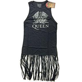 Festivalové minišaty Queen Crest Vintage
