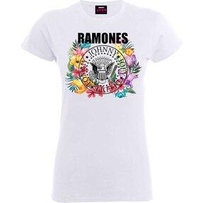 Dámské tričko Ramones Circle Flowers