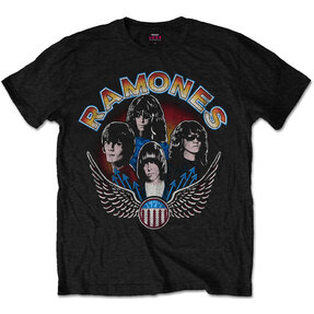 Ramones Vintage Wings Photo Pólo