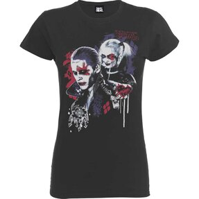 Šedé dámske tričko DC Comics Suicide Squad Harley's Puddin