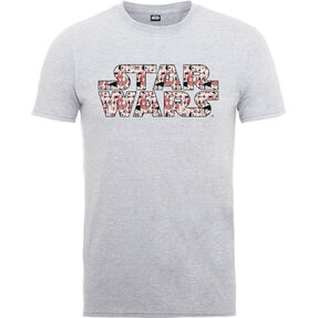 Šedé detské tričko Star Wars Rogue One Goodies