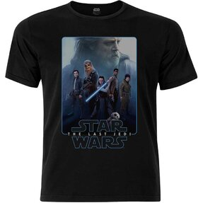 Tričko Star Wars Men's Premium Tee: Episode VIII The Force Composite