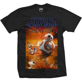Tričko Star Wars Episode VII BB-8 Composition