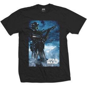 Tričko Star Wars Rogue One Death Trooper 1