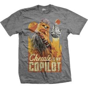 Tričko Star Wars Solo Chewie Co-Pilot