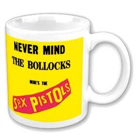 Keramický hrnček The Sex Pistols Never Mind the Bollocks