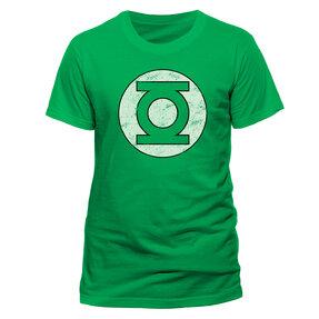 Tričko Green Lantern - Distressed logo