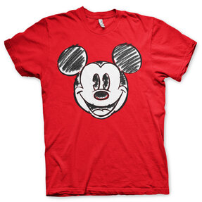 Tričko Kreslená hlava Miceky Mouse