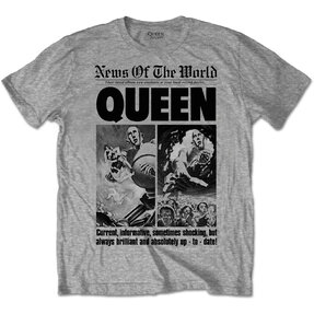 Queen News Of The World 40th Front Page pólo