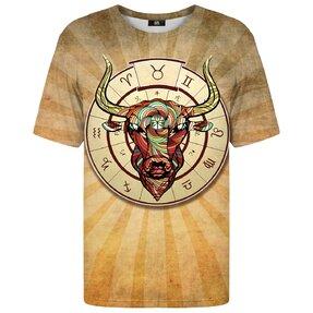 Tričko s krátkym rukávom Znamenie zverokruhu Býk
