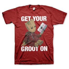 Tričko Strážcovia Galaxie Get your Groot On