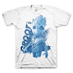 Tričko Strážcovia Galaxie I am Groot