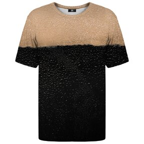 T-shirt with Short Sleeve Black Beer