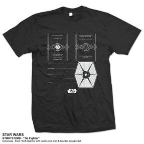 Tričko Star Wars Tie Fighter