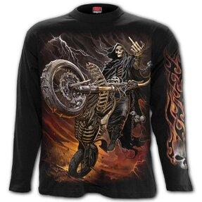 Tričko s dlhým rukávom Ohnivá jazda