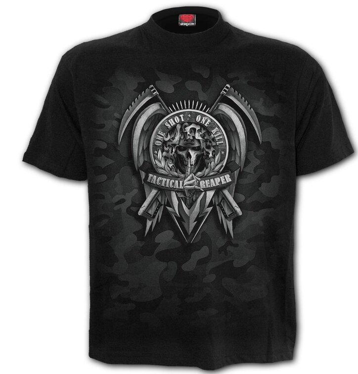 Tričko s krátkym rukávomSpiral Direct Tactical reaper