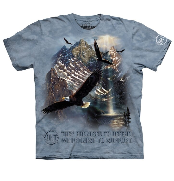Védő sólymok póló