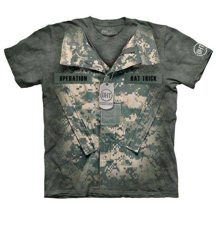Katona a szolgálatban póló