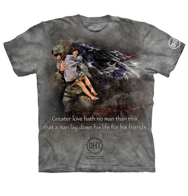 Tričko Zachránce přátel