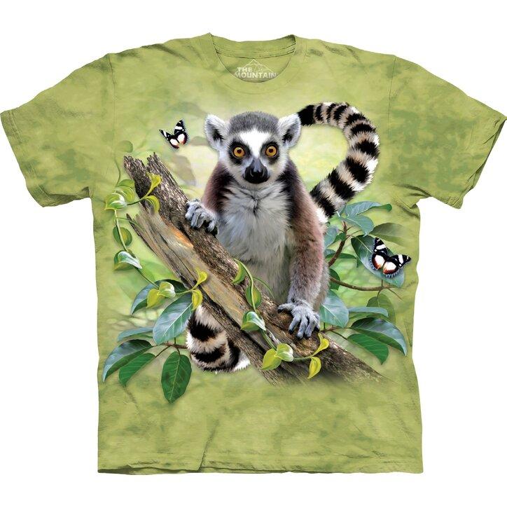 Tričko Zvedavý lemur