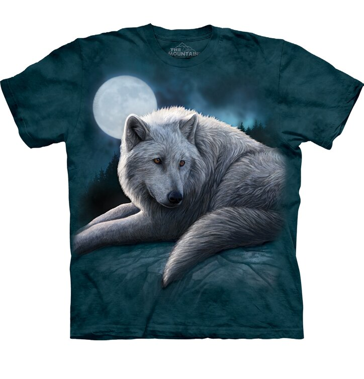 T-shirt Courage of White Wolf