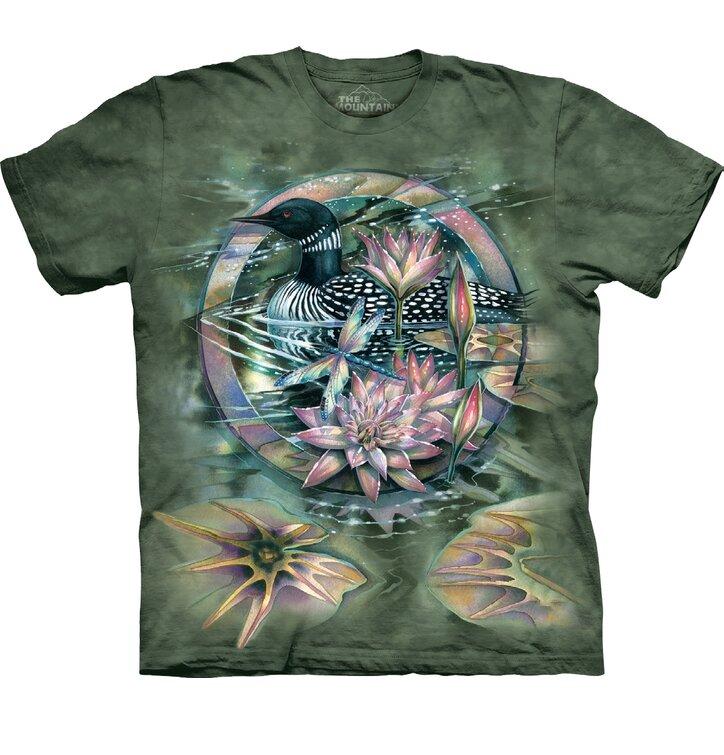 T-shirt Duck on Lake
